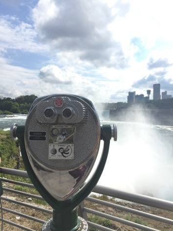 A View of Canada Across the Falls