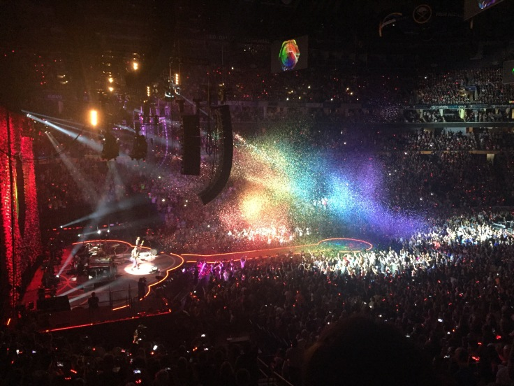 Coldplay Concert in Buffalo, New York