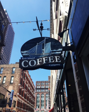 Erie Island Coffee Company in Cleveland, Ohio