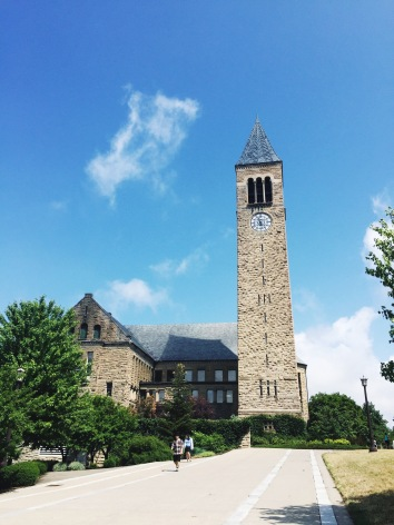 Clocktower at Cornell University