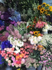 Flowers at Portobello Road