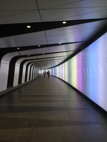 Tunnel at St. Pancras Int'l