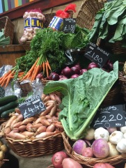 Fresh Veggies at the Borough Market