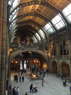 Dippy the Dinosaur @ The Natural History Museum