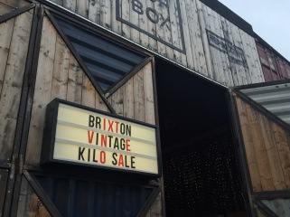 Vintage Clothing Sale in Brixton, London