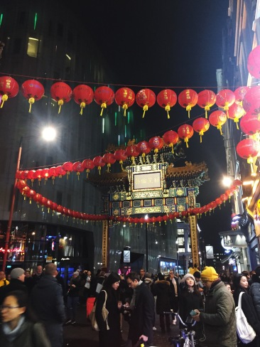 entrance gate to Chinatown